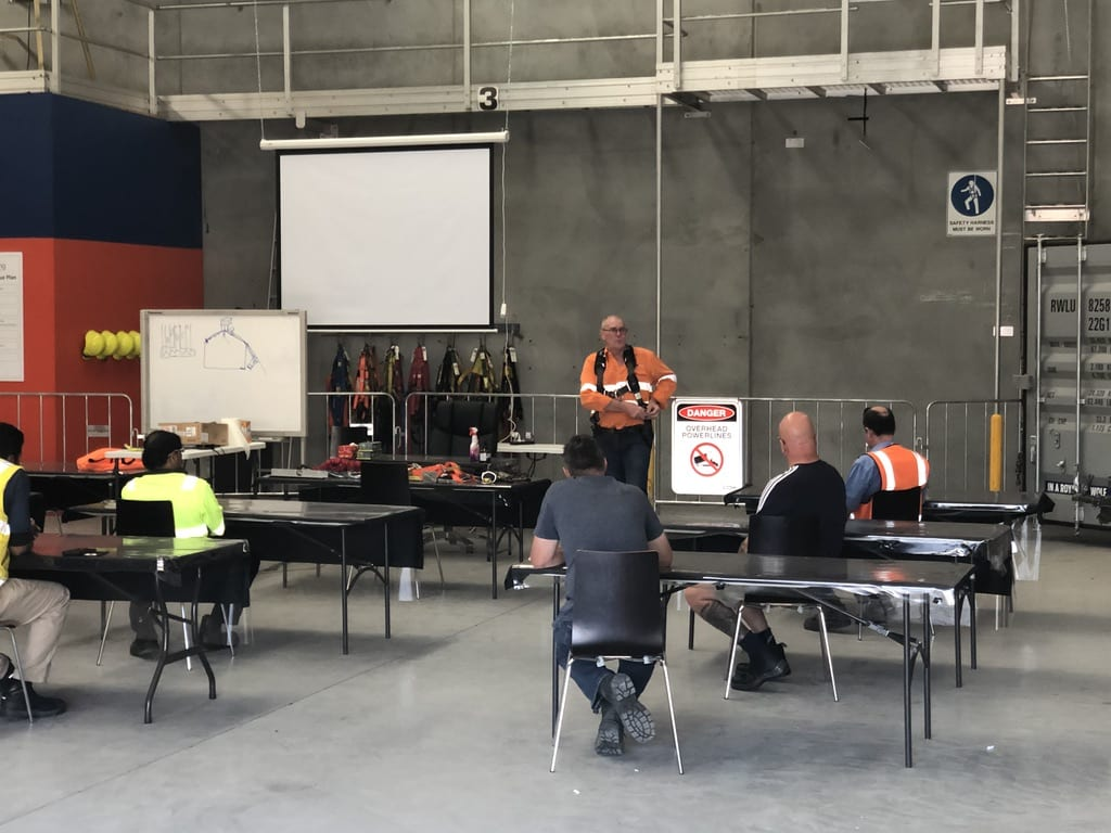 Five Construction Jobs in Melbourne by WAM Training - Working safely at Heights