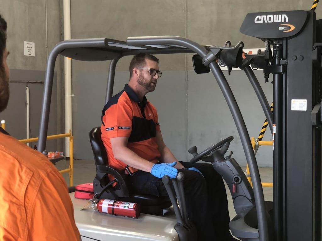 Forklift Licence Course