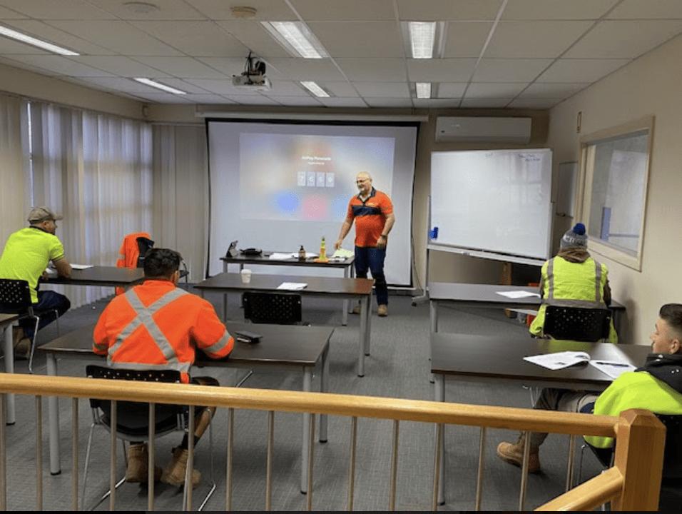 Social Distancing COVID classroom