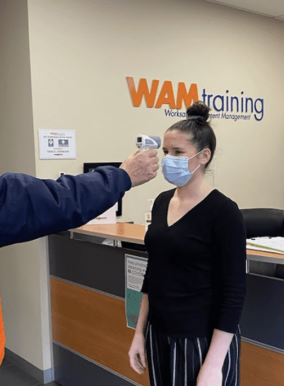 Training with Facemask
